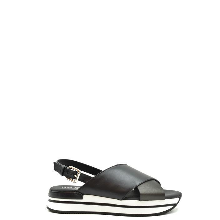 Hogan Women's Sandal Black 179298 - black 37