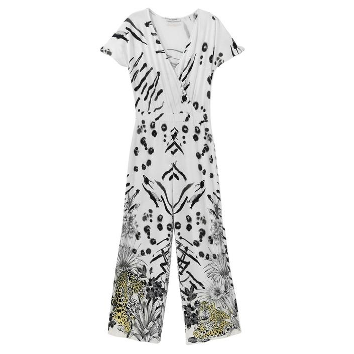 Desigual Women's Dress White 189369 - white L