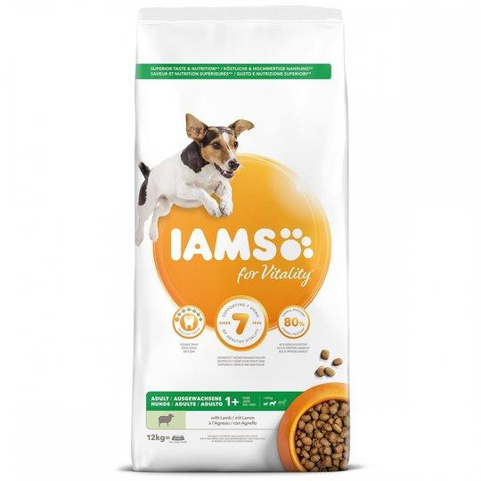 Iams for Vitality Dog Adult Small & Medium Breed Lamb 12 kg