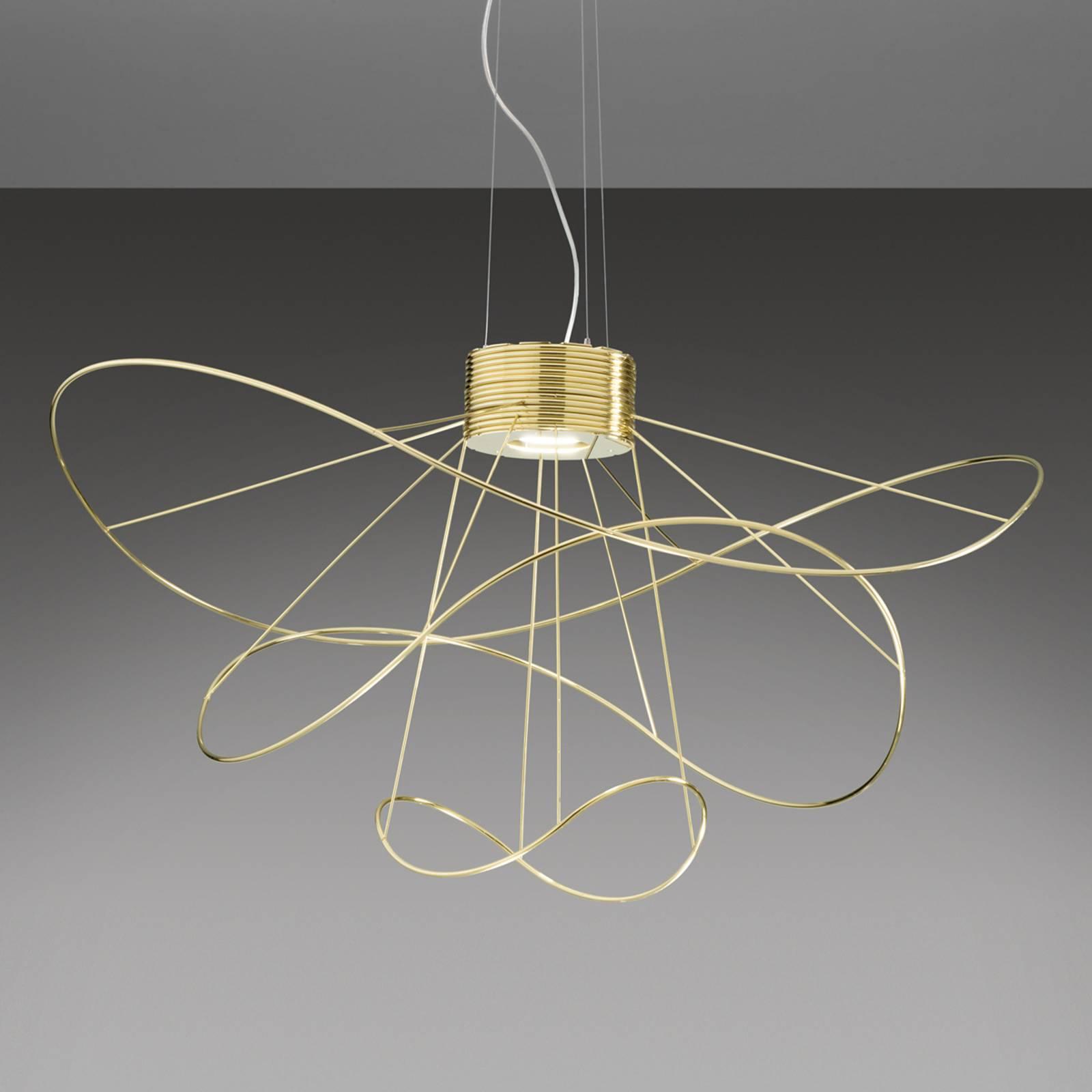 Hoops 3 -LED-riippuvalaisin, kulta