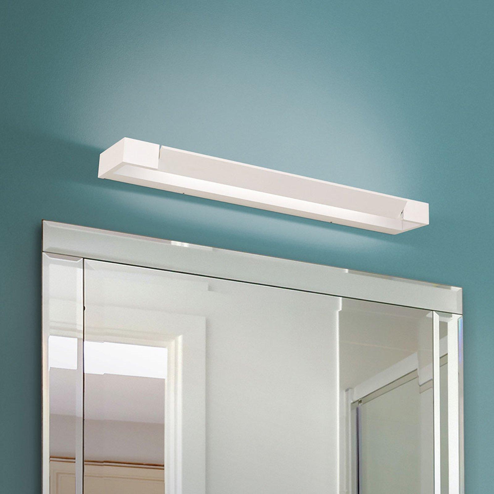 LED-speillampe Marilyn, hvit, svingbar 60 cm