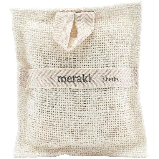 Bath Mitt, Herbs, 140 g Meraki Kylpy & Suihku