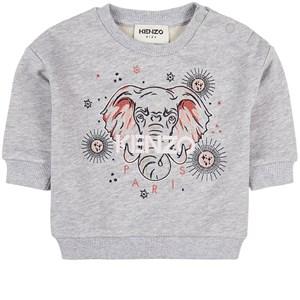 Kenzo Elephant Sweatshirt Grå 6 mån