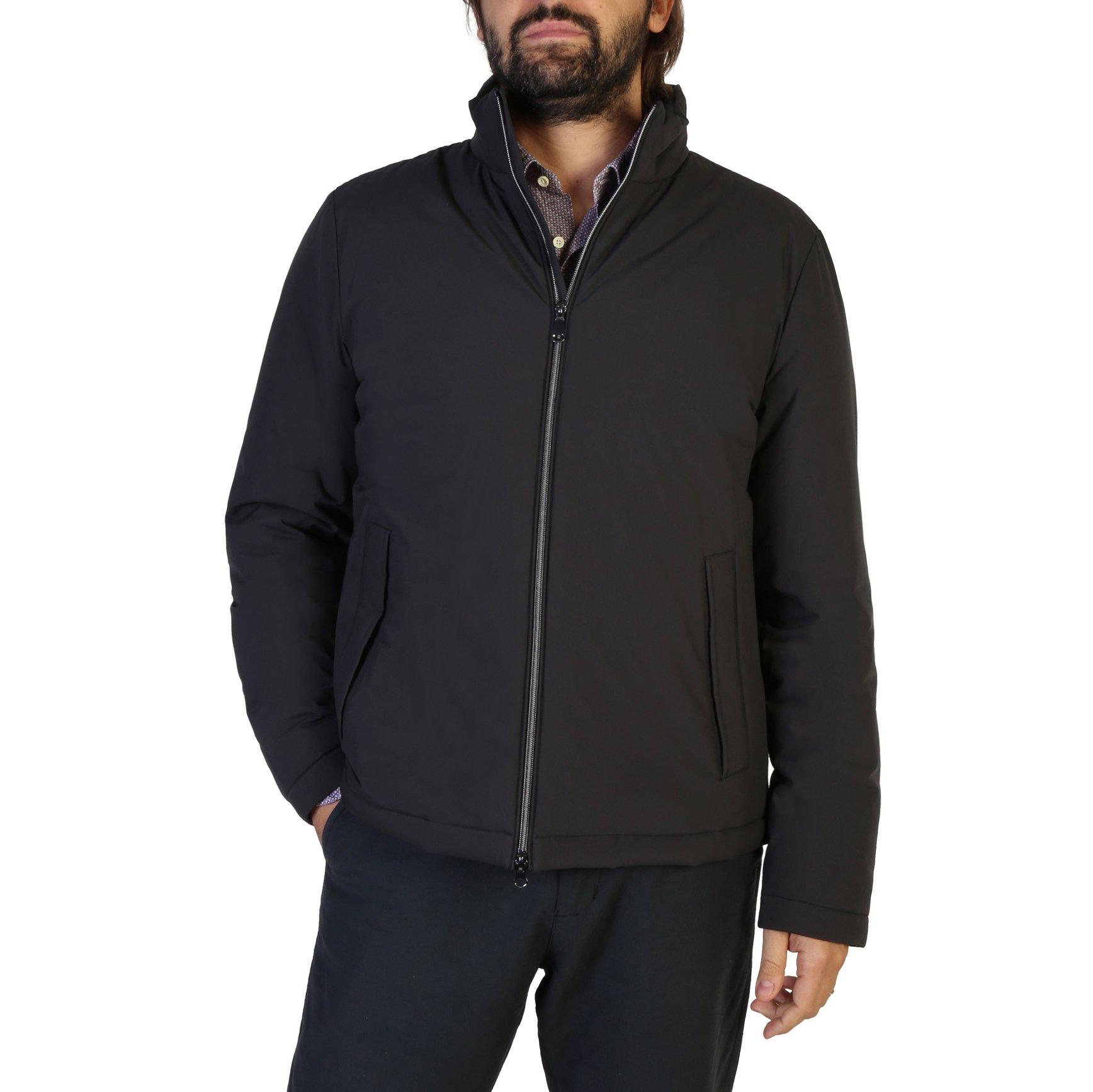 Geox Men's Jacket Brown M8428MT2504 - black 46
