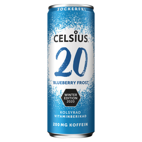 Celsius Blueberry Frost - 355 ml