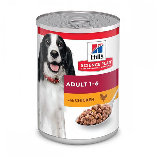 Hill´s Science Plan Dog Adult Chicken 370 g (370 g)