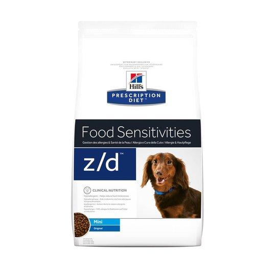 Hill's Prescription Diet Canine z/d Food Sensitivities Mini Original (1,5 kg)