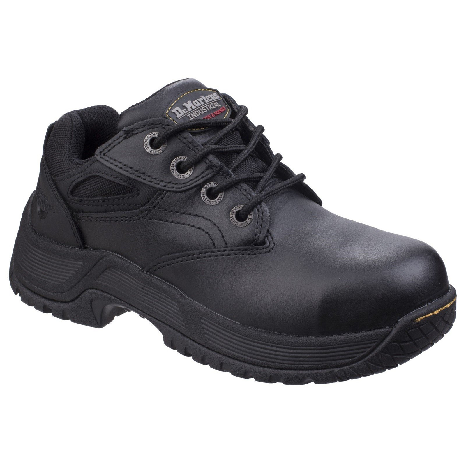 Dr Martens Unisex Calvert Steel Toe Safety Trainer Black 26022 - Black 6