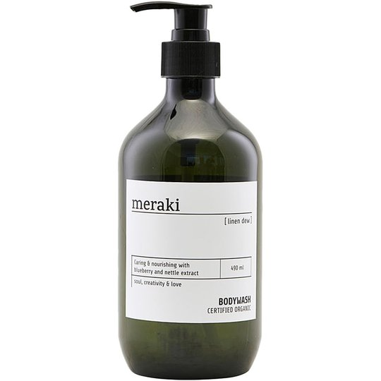 Linen Dew Body Wash, 490 ml Meraki Suihkugeelit