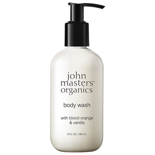 John Masters Organics Body Wash with Blood Orange & Vanilla, 236 ml