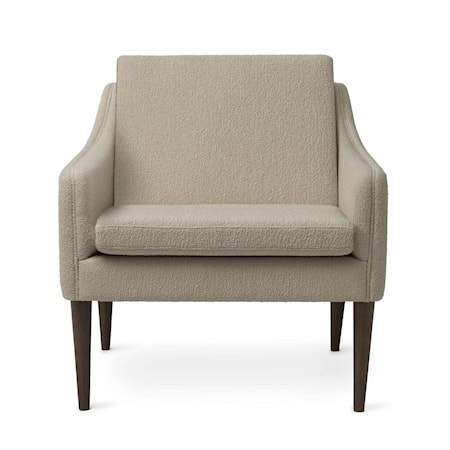 Mr. Olsen Lounge Chair Sand Smoked Ek