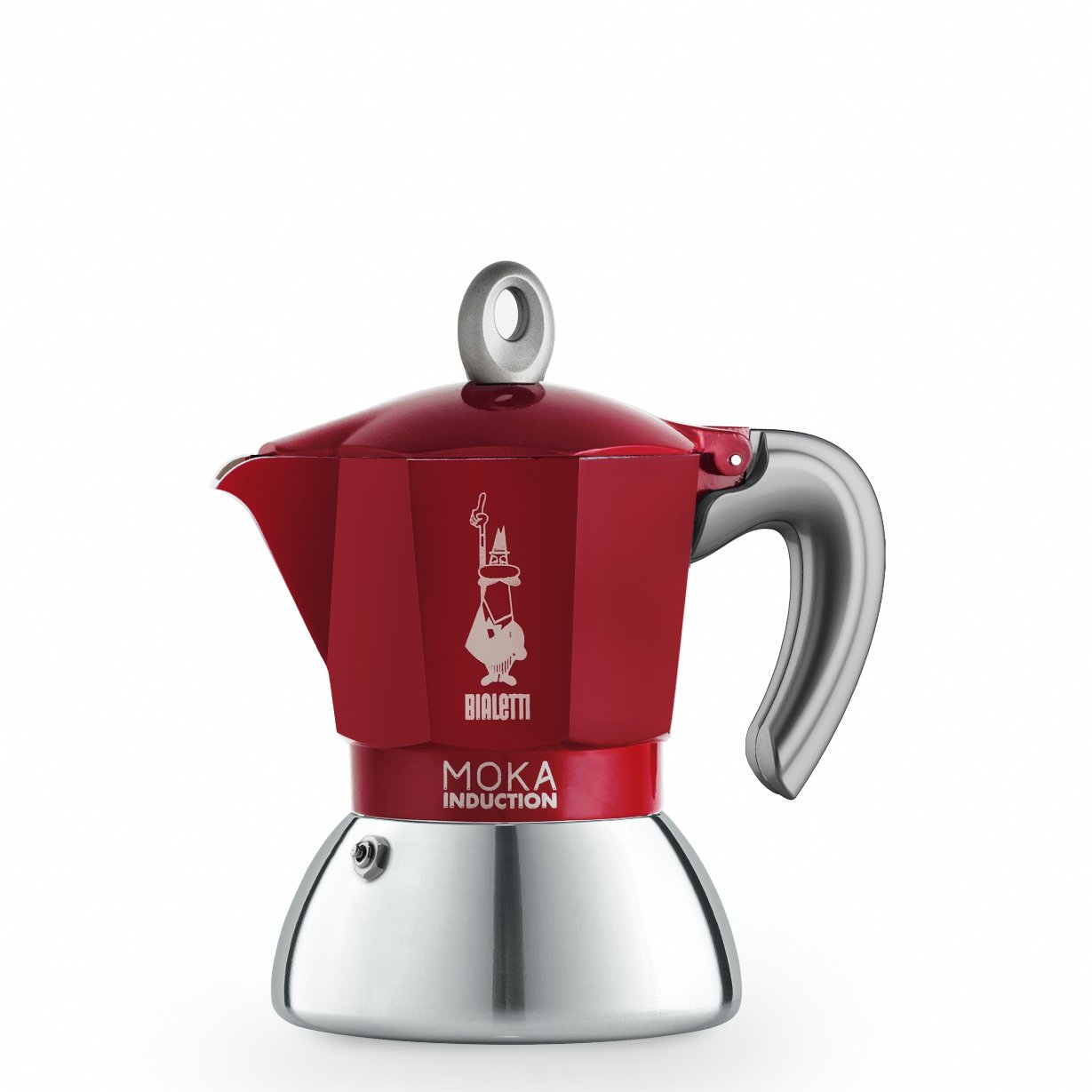 Bialetti - Moka Induction Edition 2.0 - 2 Cups - Red (6942)