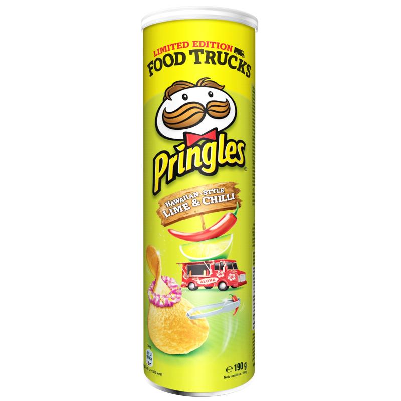 """Chips """"Lime & Chilli"""" 190g - 27% rabatt"""