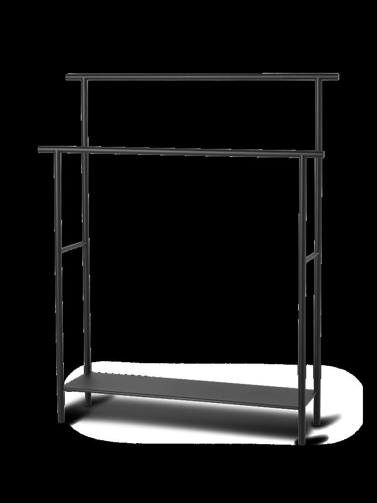 Ferm Living - Dora Towel Stand - Black (1104263258)