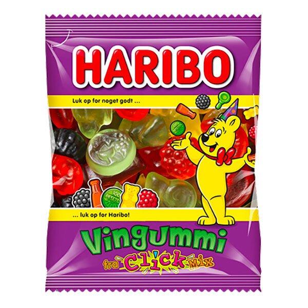 Haribo Vingummi Minipåse