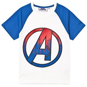 Fabric Flavours Avengers Endgame T-shirt White/Blue 5-6 years