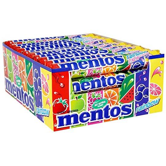 Mentos Rainbow 24-pack - 23% rabatt