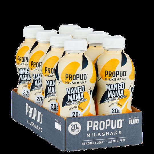 8 x ProPud Protein Milkshake, 330 ml