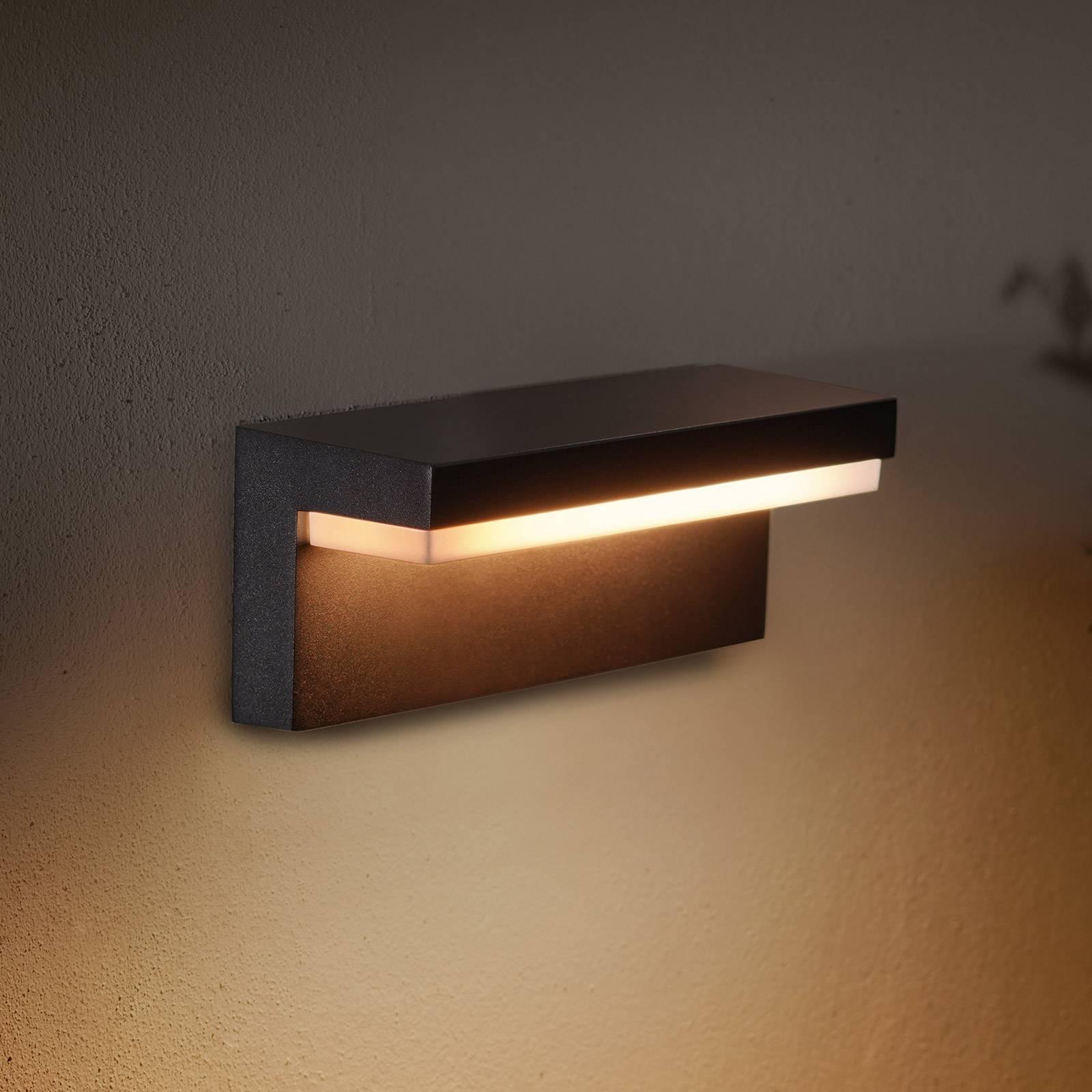 Philips Hue WACA Nyro -LED-ulkoseinälamppu, musta
