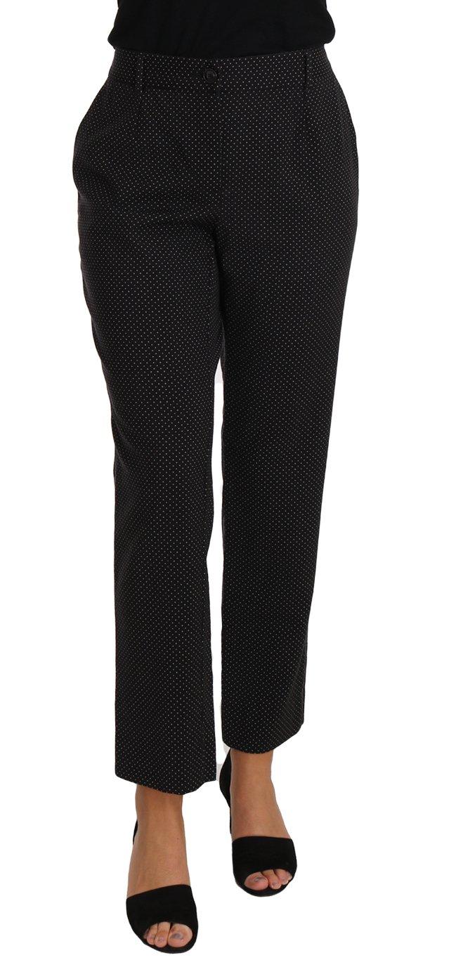 Dolce & Gabbana Women's Trouser Black PAN61090 - IT40 S