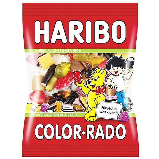 """Godis """"Color rado"""" 200g - 28% rabatt"""