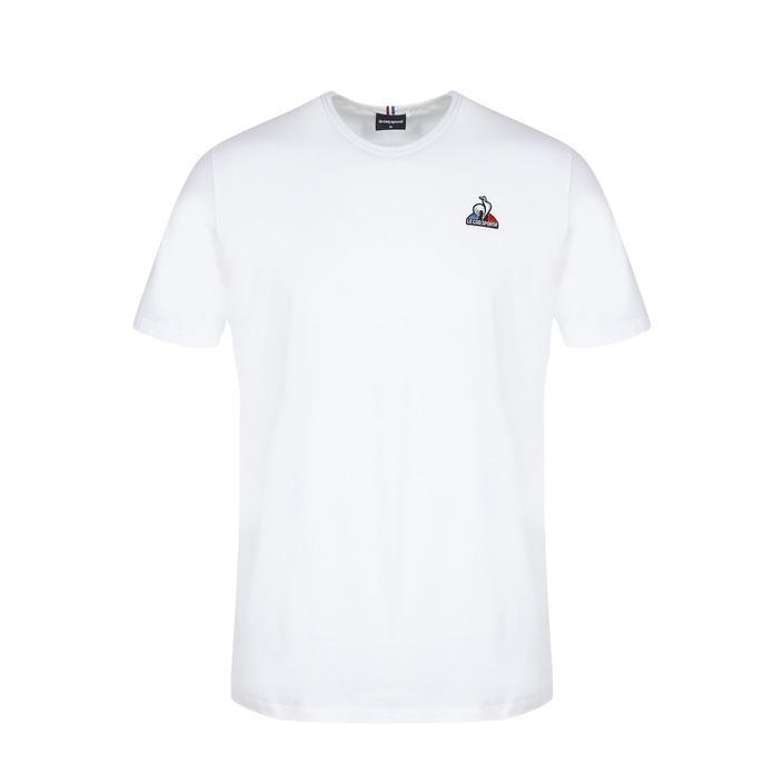 Le Coq Sportif Men's T-Shirt White 259163 - white S