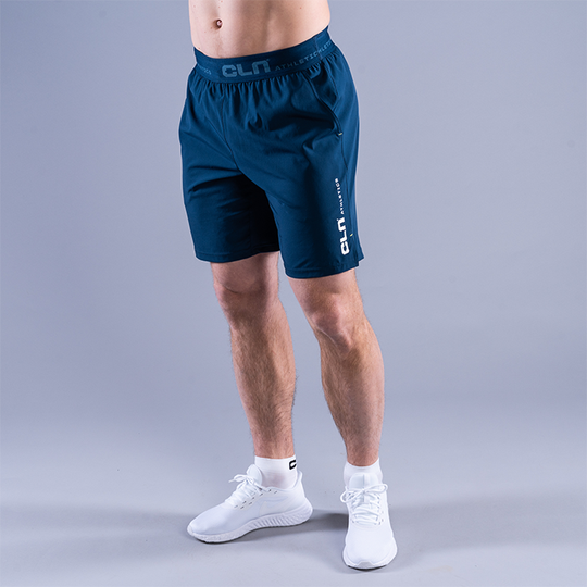 CLN Dino Stretch Shorts, Titan Blue