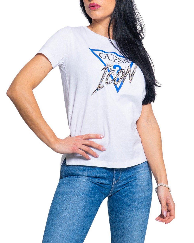 Guess Women's T-Shirt Various Colours 217643 - white M