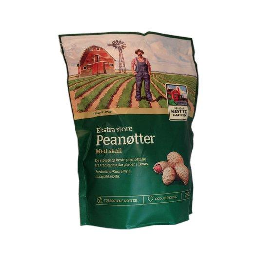 Extra stora jordnötter med skal - 60% rabatt