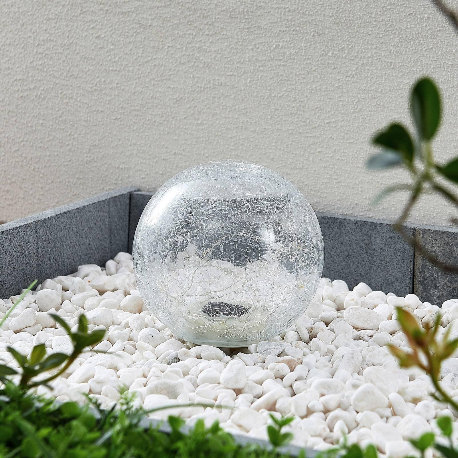 Lindby Feodoria -LED-aurinkomaapiikkivalo, Ø 15 cm