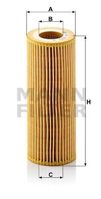 Öljynsuodatin MANN-FILTER HU 722 x