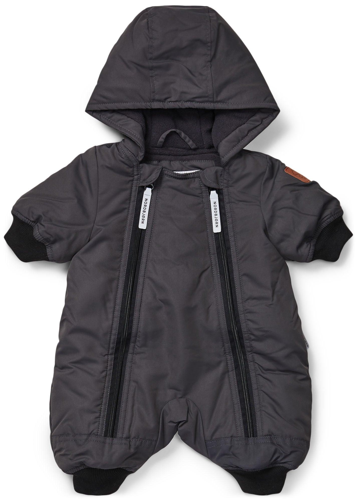 Nordbjörn Snowcub Babyoverall, Black 74