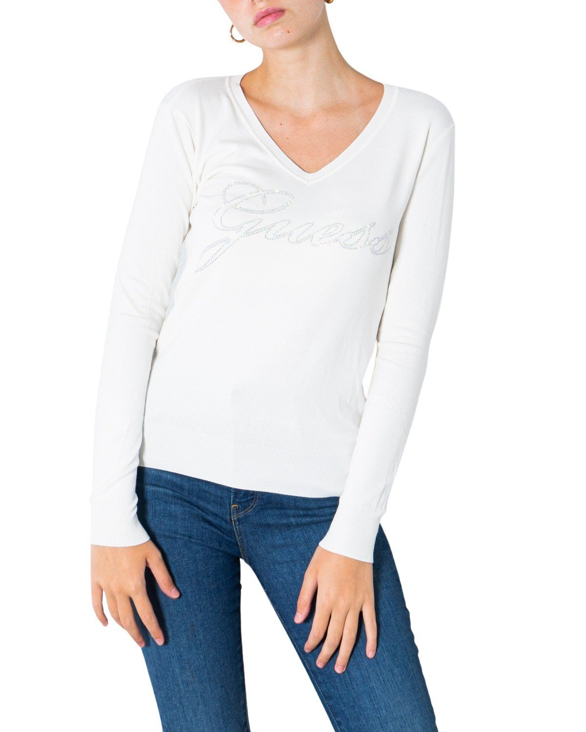 Guess Women's Sweater Various Colours 305565 - white XS
