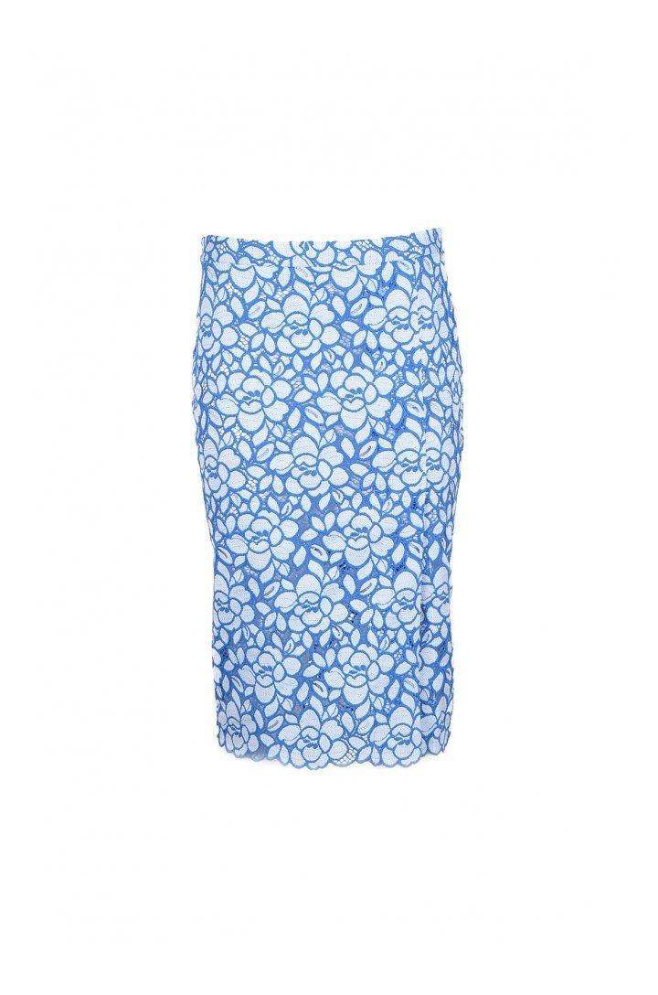 Boutique Moschino Women's Skirt Various Colours 171954 - blue-1 38