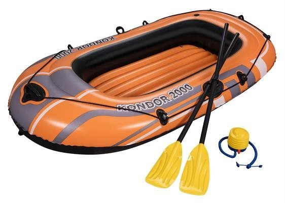Bestway - Inflatable Boat - Kondor 2000 Set 1.88m x 98cm (61062)