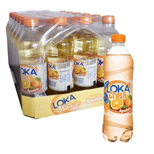 """Hel Platta Loka """"Crush"""" Apelsin 24 x 50cl - 66% rabatt"""