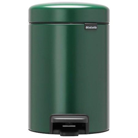 NewIcon Pedalbøtte Pine Green 3 liter