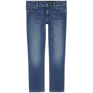Dolce & Gabbana Slim Fit Jeans Mid Wash 4 years