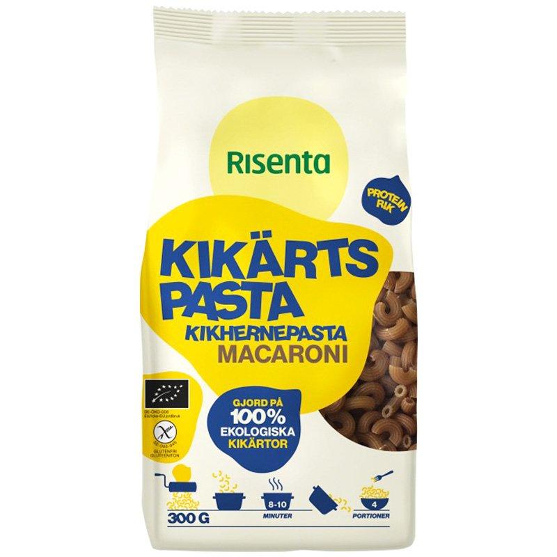 "Kikhernepasta ""Macaroni"" gluteeniton 300 g - 57% alennus"