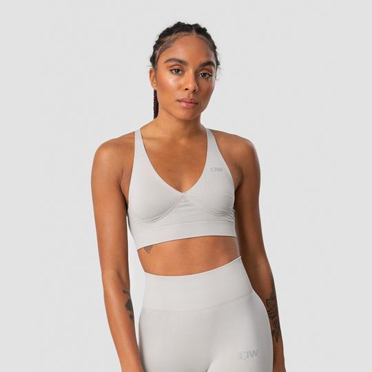 Define Adjustable Sports Bra, Light Grey