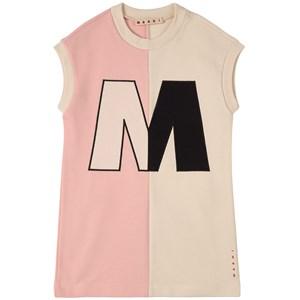 Marni M Marni Mjukis-klänning Vit 6 år