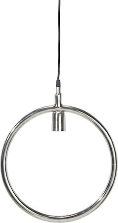 Circle taklampe Krom 35 cm
