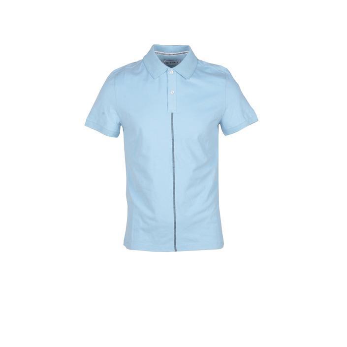Bikkembergs Men's Polo Shirt Light Blue 218087 - light blue M