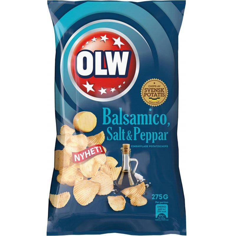 Chips Balsamico, Salt & Peppar 275g - 66% rabatt