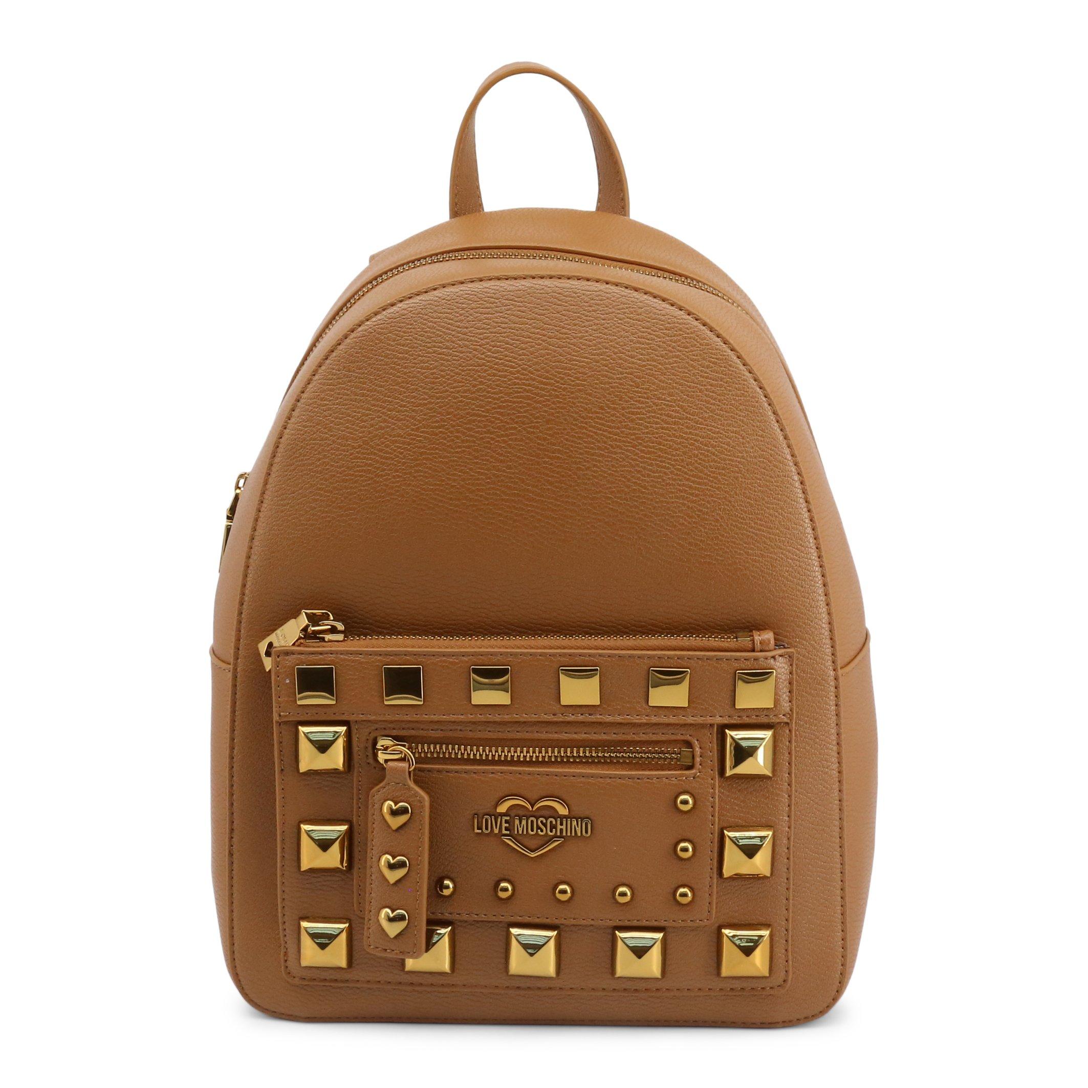 Love Moschino Women's Backpack Black JC4282PP0BKO - brown NOSIZE