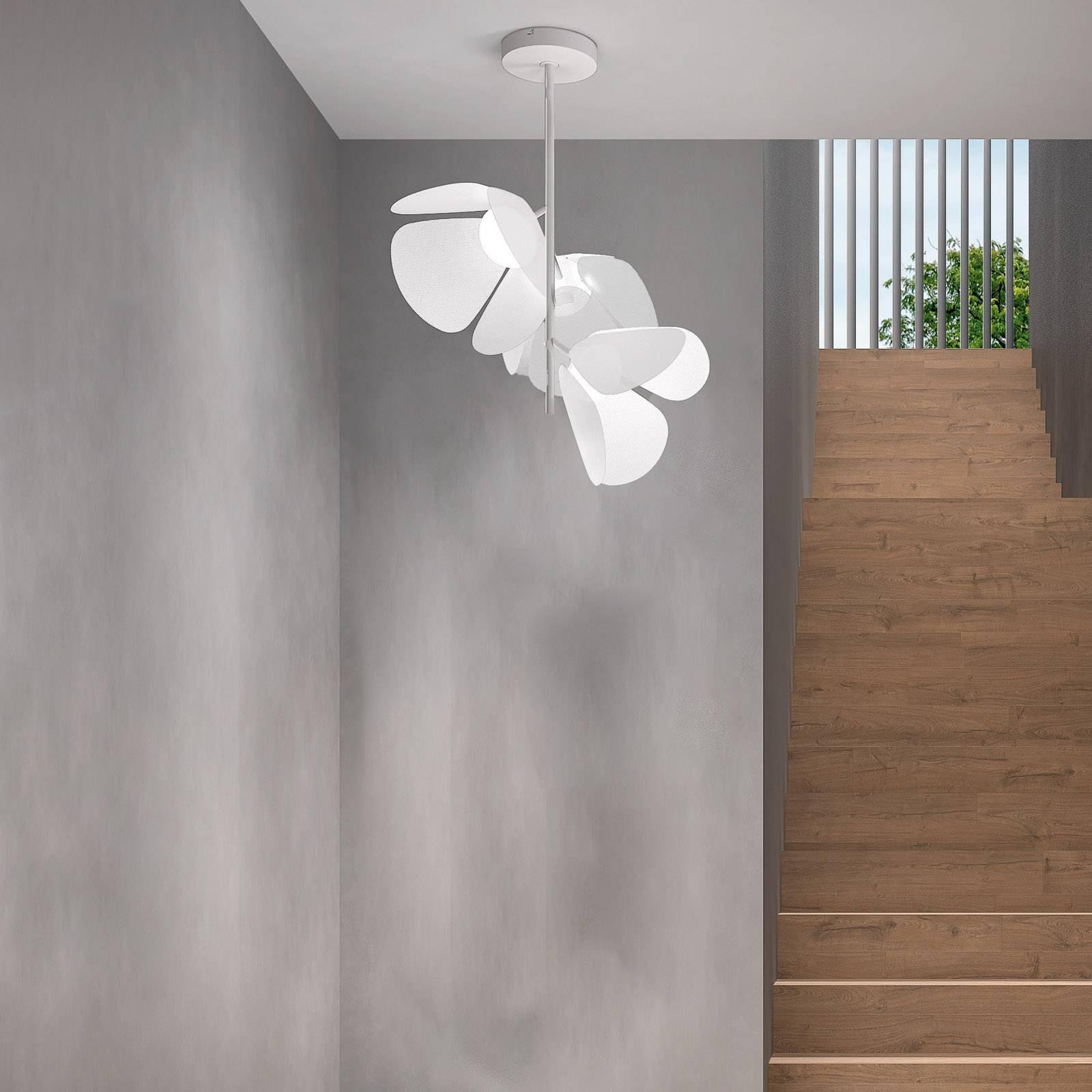 Bover Mod PF/73/3L LED-taklampe, hvit