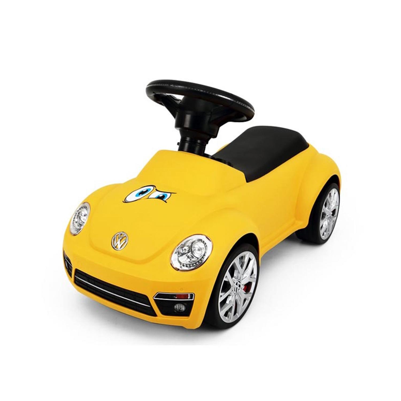 Babytrold - Car Activity Ride On - Yellow VW