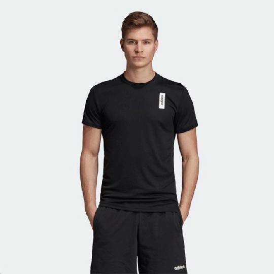 Adidas Brilliant Basic Tee, Black