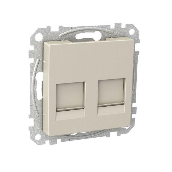 Schneider Electric WDE004377 Midtplate 55 x 55 x 24 mm Metallic