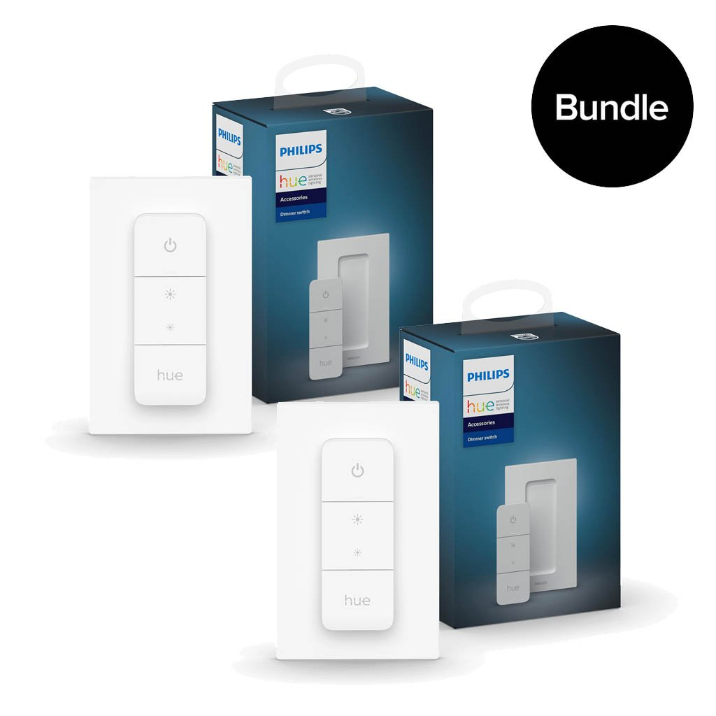 Philips Hue - 2x New Dimmer Switch Bundle
